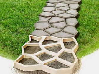 Скачать бесплатно фото Разное Форма для садовой дорожки Мозаика 68654448 в Уфе