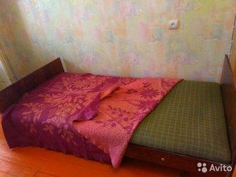 Кровать с матрасом, б/у,  Самовывоз,  Возможен торг в Уфе