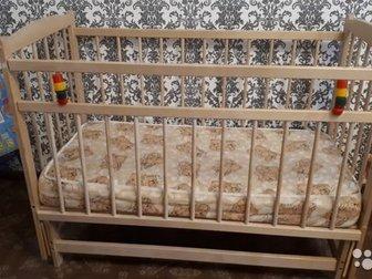 продам кровать маятник с матрасом в хорошем состоянии,  Торг уместен в Уфе