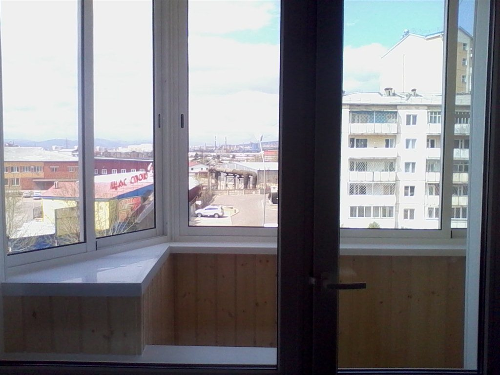 Улан-удэ: остекление балконов под ключ, установка окон пвх ц.