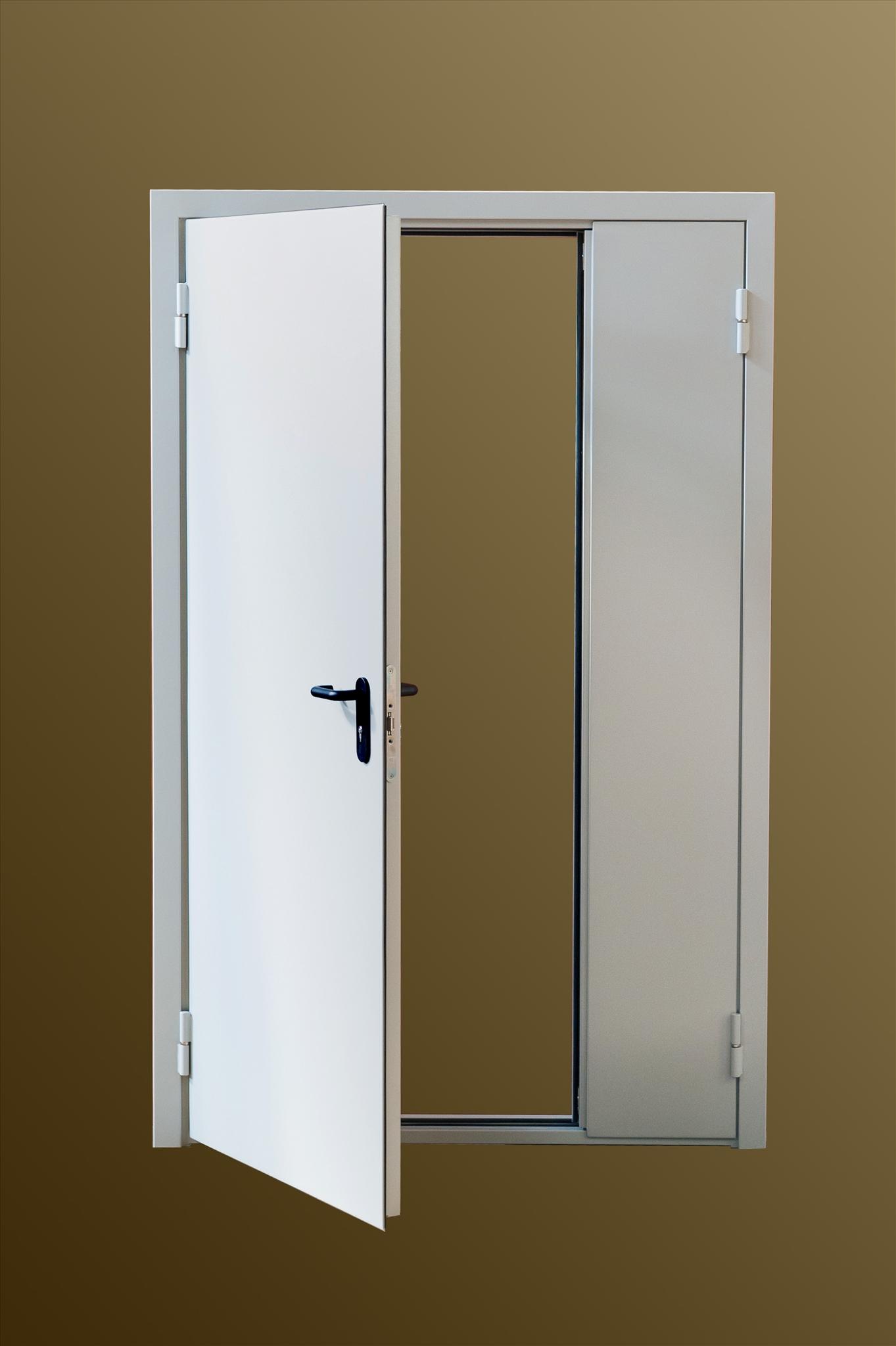 металлическая противопожарная дверь стоимость и монтаж