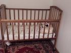 Фотография в Для детей Детская мебель Продам новую детскую кроватку с матрасом в Усть-Илимске 5000
