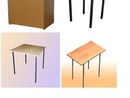 мебель эконом класса стол обеденный (ЛДСП)700мм*700мм*750 (высота)-1260 руб  сто
