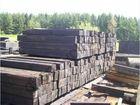 Фото в Строительство и ремонт Разное Шпалы деревянные б. у. в хорошем состоянии, в Валдае 10
