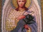 Изображение в Хобби и увлечения Коллекционирование Икона вышитая бисеромсвятой архангел Гавриил, в Великом Новгороде 5000