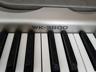 Просмотреть foto Музыка, пение продам синтезатор Casio wk-3800 70246234 в Великом Новгороде