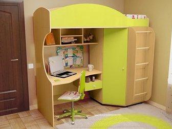 Новое фото Детская мебель Кровать для ребёнка 3-12 лет Облачко 2 34152105 в Барнауле