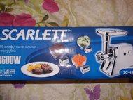 многофункциональная мясорубка Scarlett новая в упаковке. модель SC-4348