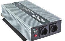 Преобразователь с 12В на 220В c USB 2000Вт (новый)