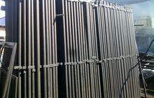Столбы для забора, металлические столбы