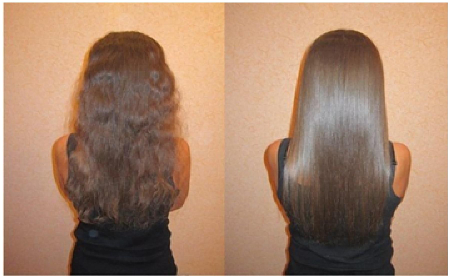 Кератиновое восстановление волос 27