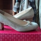 Бежевые туфли терволина