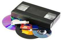 Оцифровка видеокассет VHS на DVD
