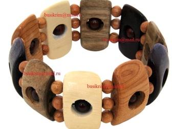 Свежее изображение  Деревянная бижутерия Саратов 37303433 в Саратове