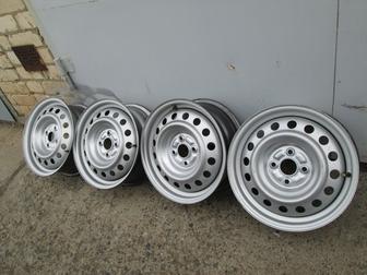 Смотреть изображение Колесные диски Продаю колесные диски 6х15 4х100 диам, вн, 54,1 ЕТ43 37544493 в Волгограде