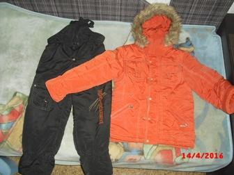 Скачать foto Детская одежда Костюм зимний для мальчика 122−128 см (6−8 лет) 38526394 в Волгограде