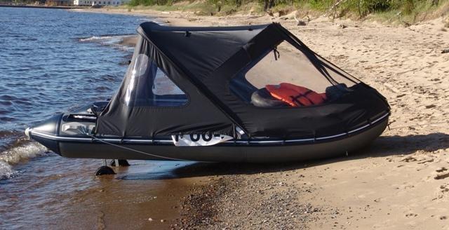 тент на лодки пвх под мотор