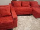 Фотография в Мебель и интерьер Мягкая мебель Угловой диван+кресло б-у. удобное спальное в Волжском 9000