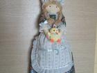 Фото в Мебель и интерьер Другие предметы интерьера Кукла ручной работы для хранения пакетов, в Воронеже 330