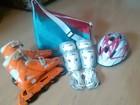 Увидеть foto Другие спортивные товары продаю раздвижные роликовые коньки,шлем,защиту,сумку для роликов, 38810911 в Воронеже