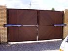Просмотреть foto Строительные материалы Автоматические распашные ворота 39686933 в Воронеже
