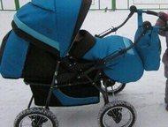 Детская коляска (2 в 1) Deltim Voyager Soft Детская коляска - трансфотмер (2 в 1