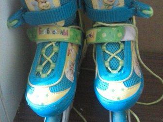 Новое foto Другие спортивные товары Продам детские роликовые коньки барбоскины 33098609 в Воронеже