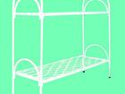 Свежее фото  Кровати металлические двухъярусные, кровати для рабочих, кровати оптом, кровати для больницы, армейские кровати, 37016326 в Иркутске