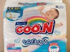 Подгузники Goon NewBorn до 5кг 90шт